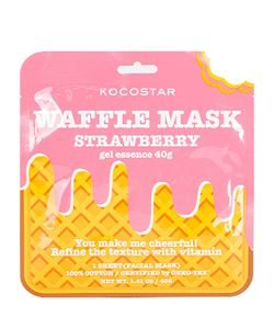 Máscara Facial Waffle Mask Strawberry Kocostar