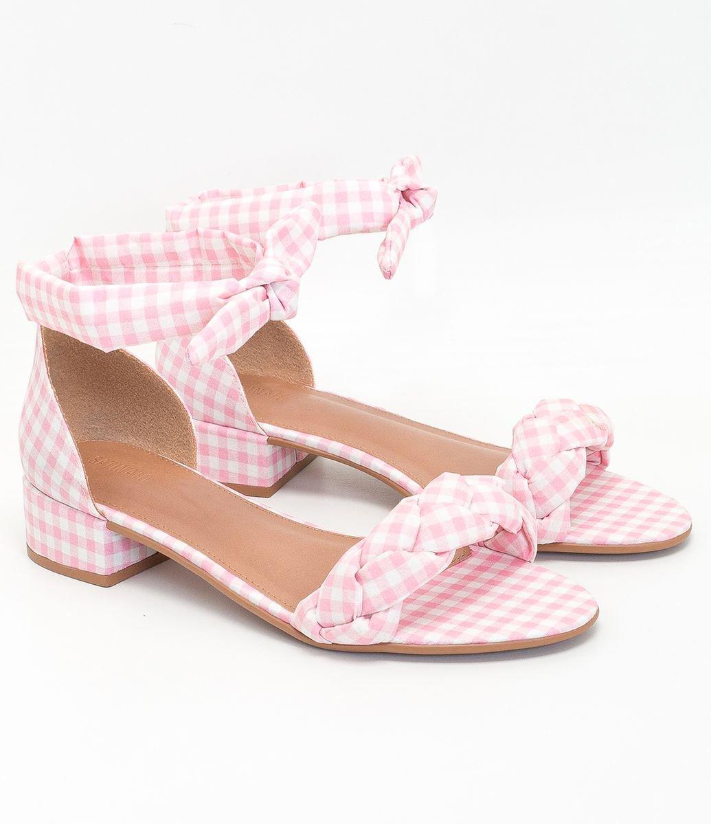 Sandália bico redondo