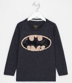 Remera Infantil Estampa Batman - Tam 2 a 14 años