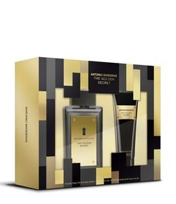 Kit Perfume Masculino Antonio Bandeiras Golden Secret Eau de Toilette + Loção Pós Barba