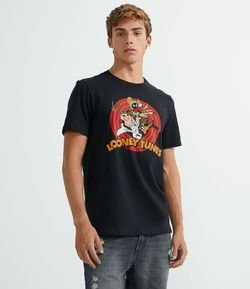 Camiseta com Estampa Looney Tunes