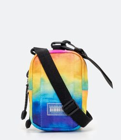 Bolsa Mini Bag Estampada Tie Dye